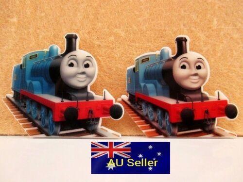 2 Pack for DIY Plastic Flatback Planar Resin Embellishment Thomas Train
