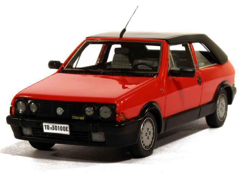 FIAT RITMO 100S SUPERCABRIO BERTONE 1985 rosso METAL KESS KE43010041 1 43 ROSSO