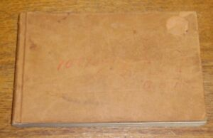 Antique-1893-York-County-Pennsylvania-County-Tax-Record-Book-Filled-Up