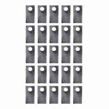 Disc Mower Blade 25 Pack Left Hand Fits New Holland 1431 1412 Fits Case Ih