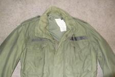 Military Small Sht 1975 Fatigue M65 Field Jacket USAF Coat Men OG107 Vietnam 192