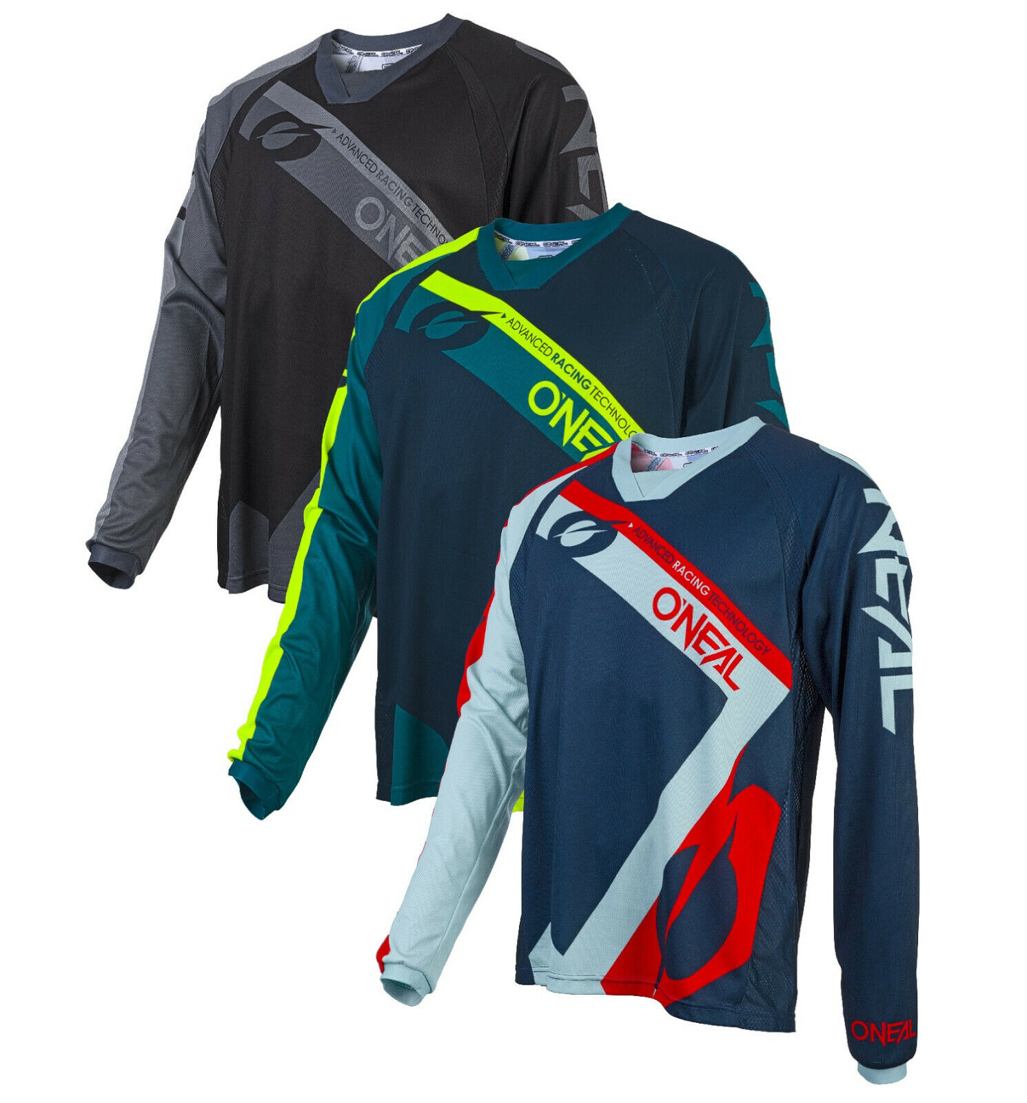 O'Neal Element FR Hybrid Jersey, MX Motocross Mountainbike, MTB, Downhill Trikot