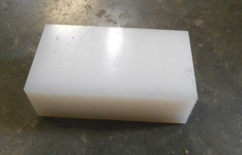 "1/"" x 1-3//4/"" x 3-1//4/"" POLYPROPYLENE PLASTIC Block Qty-2 Gar"