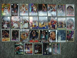 CHARLES BARKLEY 29 DIFFERENT BKB CARD LOT SIXERS SUNS ROCKETS PREMIUMS INSERTS