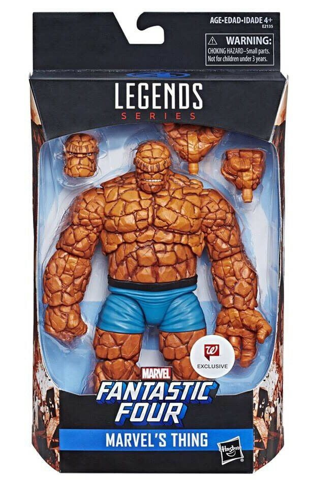 Marvel Legends The Thing Fantastic 4 Figure