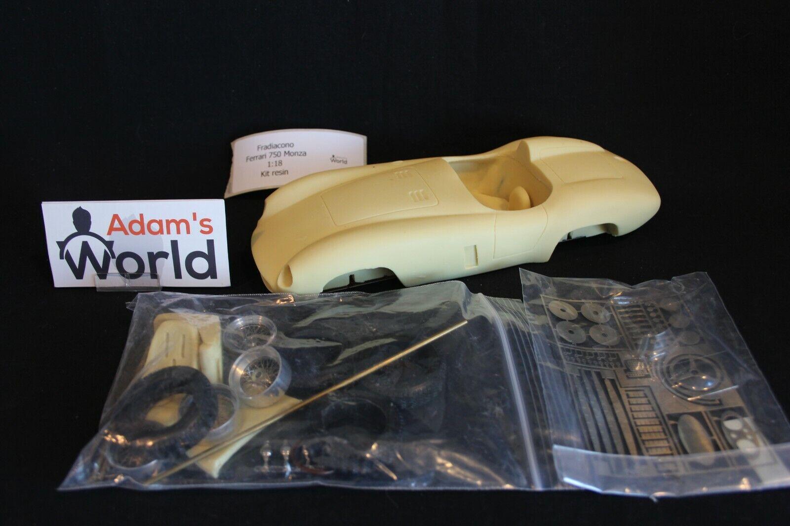 Fradiacono unbuilt kit resin Ferrari 750 Monza 1 18 (PJBB)
