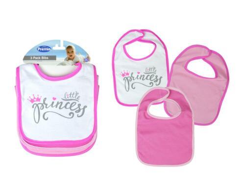 3 fille bébé bavoirs bébé Coton Rose 2 divisé les repas alimentation assiettes bols