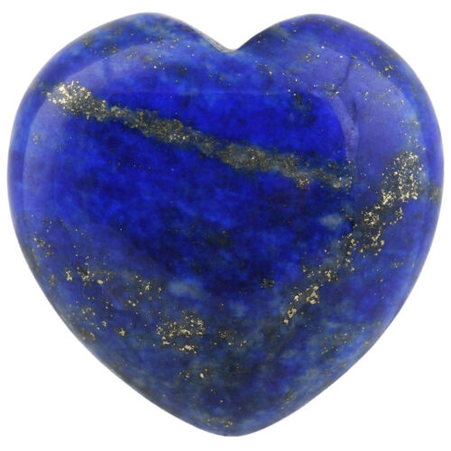 "Puff Heart Love Palm Pocket Worry Stone Healing Reiki Crystals Chakra Gem 0.8/"""