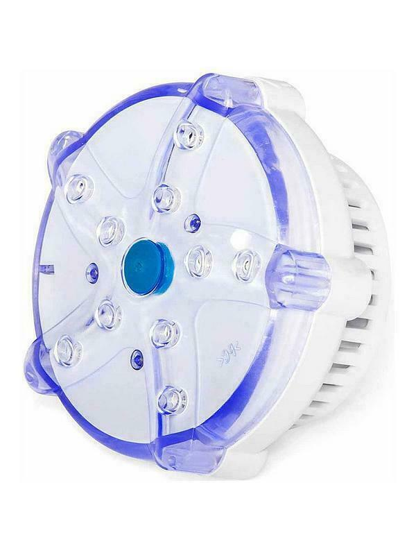 Lay-Z-Spa Hot Tub Jacuzzi Outdoor 7-Color LED Light Multicoloured Battery