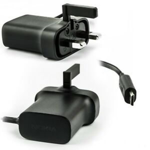 NOKIA-AC-18X-Charger-3-Pin-UK-For-702T-7900-PRISM-801T-808-PUREVIEW