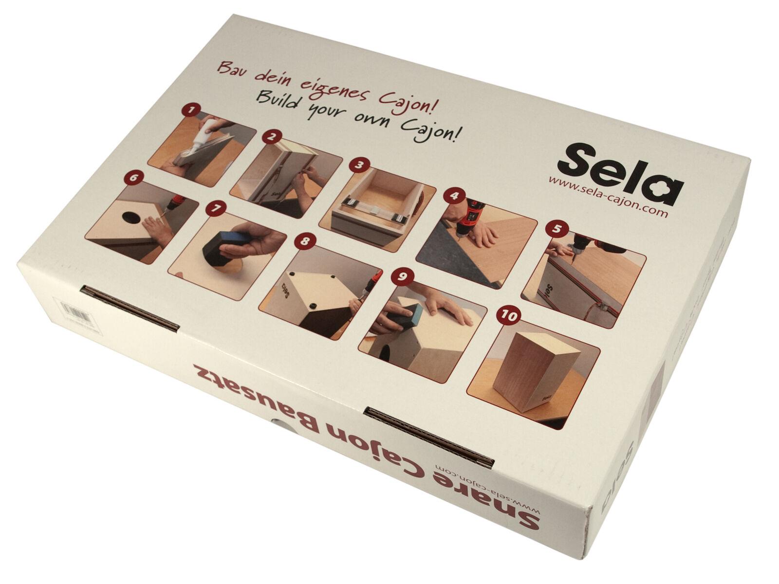 Sela Cajon Kit-Compreso CD e libro di testo
