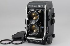【Super Rare!!Near Mint+++】Mamiya C220 F W/Sekor 80mm f/2.8 Blue dot  from Japan
