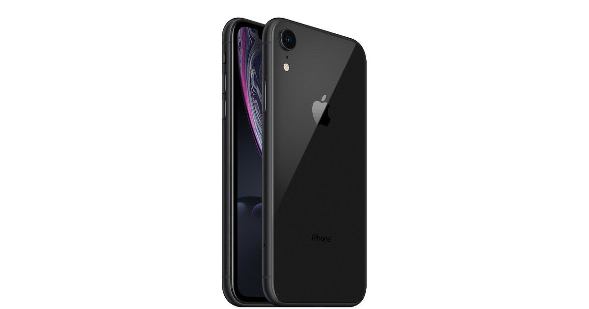 Apple iPhone XR 64GB Black LTE Cellular Sprint MT472LL/A