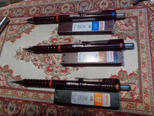 T 1,0 mit Ersatzminen rOtring Tikky II Druckbleistift T 0,5 T 0,7