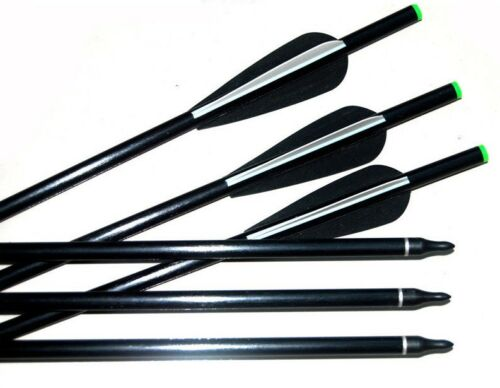 10 Fibreglass 13.5 inch Field Tip onoff Archery arrow Crossbow Broadhead