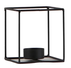 2pcs/Pack Nordic 3D Geometric Iron Candlestick Table Patio Decor 2 Sizes