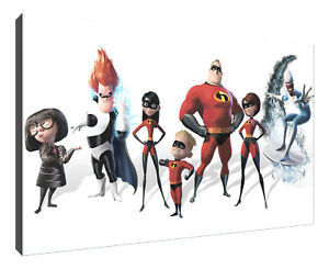 the-incredibles-surfer-canvas-wall-art-Wood-Framed-Ready-to-Hang-XXL