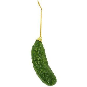 image is loading tree ornament german christmas pickle traditional game with
