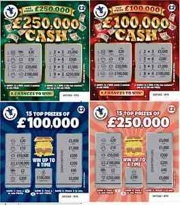 FAKE-JOKE-LOTTERY-SCRATCH-CARDS-TICKETS-100-000-250-000-BEST-ON-EBAY