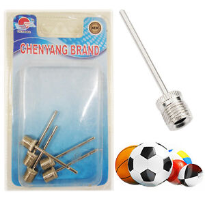 5-Football-Inflating-Needle-Pump-Adapter-New-Valve-for-Inflatable-Balls-Bicycles