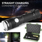 Super Bright 5000Lm XM-L T6 LED Adjustable Focus Flashlight Torch Zoomable Lamp