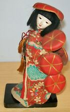 Plastic JAPANESE DOLL - unknown age / maker