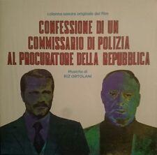 Riz Ortolani Confessione Di Un Commissario Di Polizia ... OST LP Four Flies Ltd