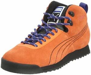 puma roma leather trainers