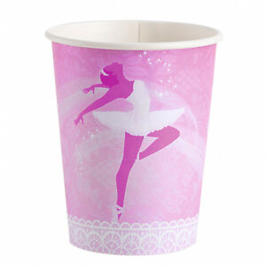 BALLET-Birthday-PARTY-NEW-Tableware-Balloons-Decorations-Supplies