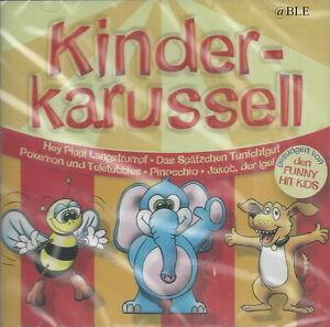 CD-Kinderkarussell-Kinderlieder-Gesungen-von-den-Funny-Hit-Kids