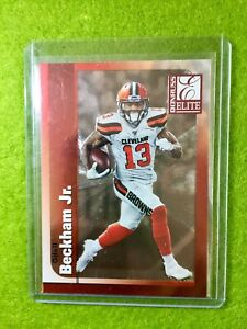 ODELL-BECKHAM-JR-CLEVELAND-BROWNS-JERSEY-13-SP-1999-Insert-2019-Donruss-Elite