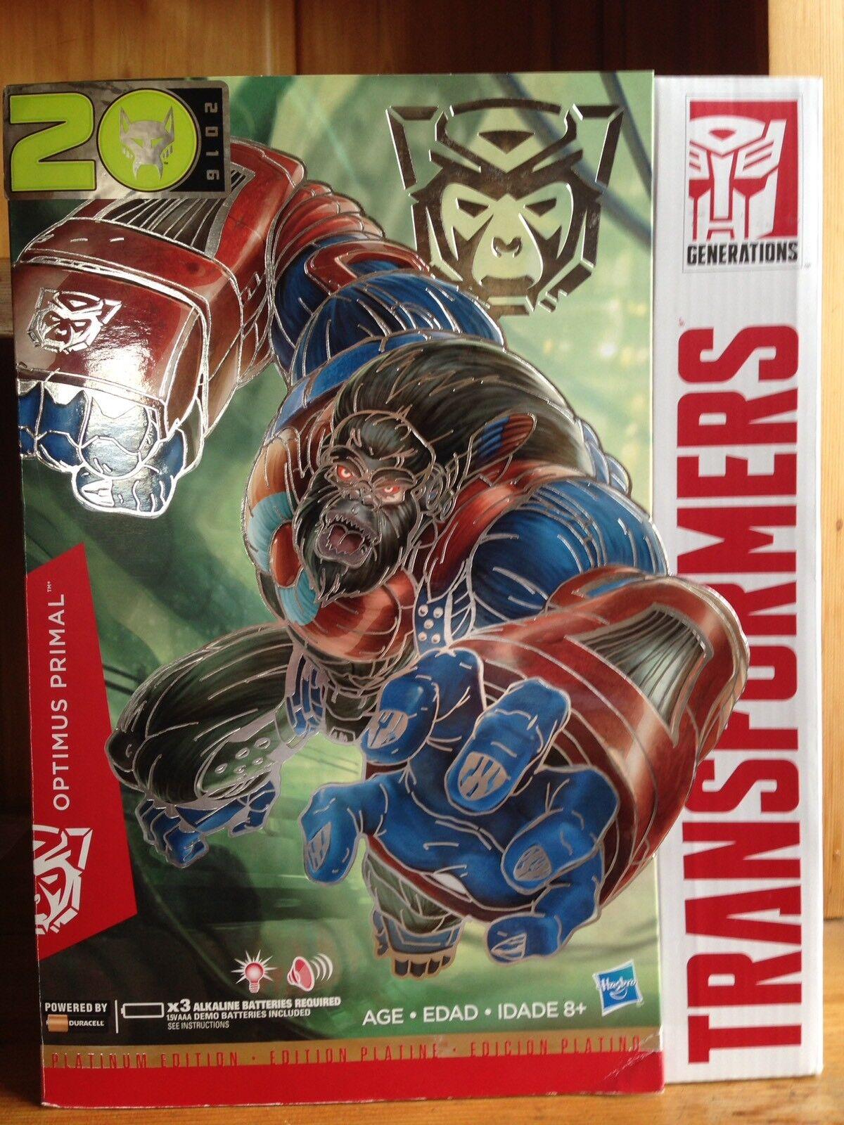 Transformers Platinum  Edition année du singe YOTM Optimus Primal  vente en ligne