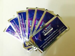 Crest 3D Whitestrips Luxe Whitening Strips Professional ...
