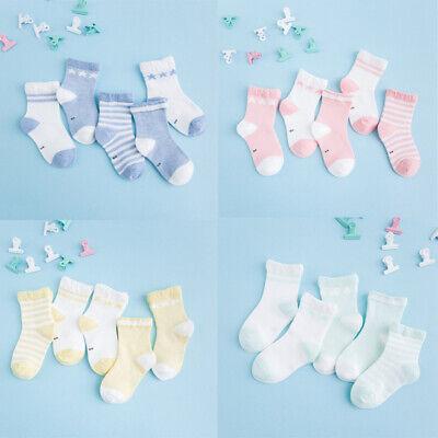 2 Pairs Baby Boy Girl Cartoon Cotton Socks NewBorn Infant Toddler Kids Soft Sock
