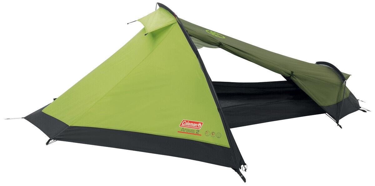 COLEMAN ARAVIS 2 Tenda da campeggio Tenda a tunnel 2 Persone Tenda da Trekking Outdoor Tenda