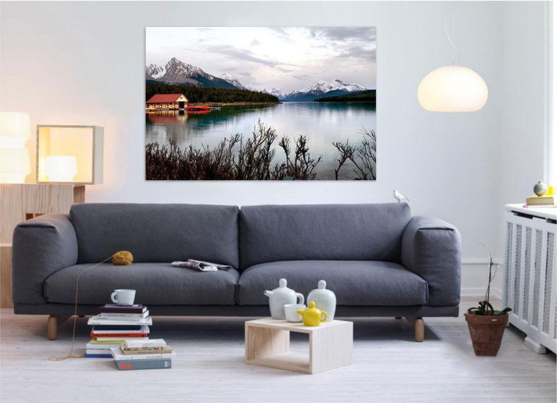 3D Der Himmel Berge 577 Fototapeten Wandbild BildTapete AJSTORE DE Lemon