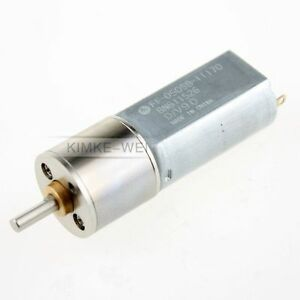 12V-500RPM-Torque-Gear-Box-Electric-Motor-New