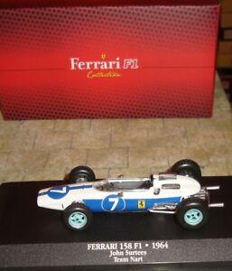 Ferrari-158-F1-Formula-Uno-Racing-Car-John-Surtees-1964-1-43-en-Caja