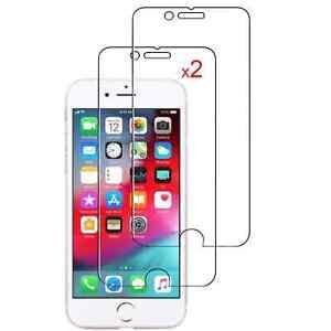 Protection d'écran en Verre trempé (x2) pour iPhone 7,iPhone 8,SE 2020