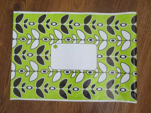 """20 x lime verde foglia in plastica sacchetti BUSTA invia forte Seal 10/""""x14/"""" Grande Lettera"""