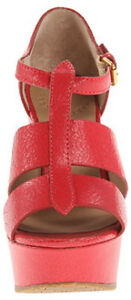 Marc-By-Marc-Jacobs-Dreaming-Of-The-Days-Platform-Wedge-Sandals-Red-Size-8-5