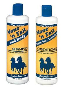 Mane N Tail Original Shampoo & Conditioner 12oz each SPECIALOFFER