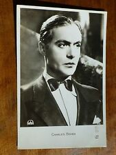 CHARLES BOYER French Actor 1930s Gaslight ALGIERS Fims OSSO 915 Postcard i35