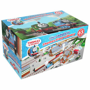 Thomas-amp-Friends-Collection-65-Books-Boxed-Gift-Set-Story-Library-Tank-Engine