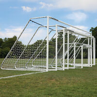 Alumagoal® 3 Classic Soccer Goals - 8'h X 24'w (1 Pair) on sale