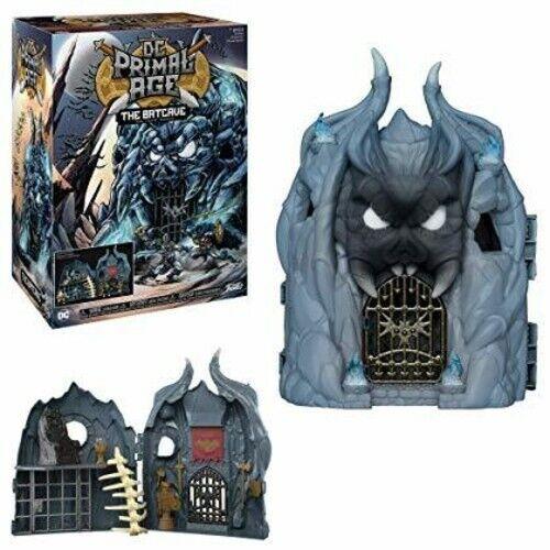 New Toys FUNKO DC PRIMAL AGE Batcave Play Set Vinyl Figure