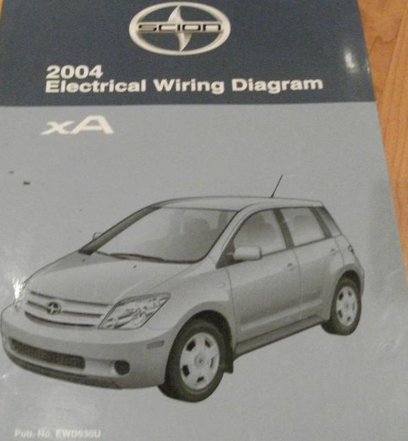 DIAGRAM 2005 Toyota Scion Xa Electrical Wiring Diagram ...