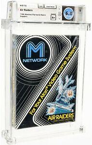 New Air Raiders M-Network Atari 2600 Sealed Video Game! Wata Graded 6.0! 1982