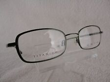 Kata Edge 2 in Olive Titanium 50X20 135mm Frames Eyeglass Eyewear