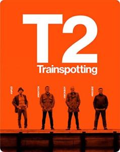 T2 Trainspotting 2 Disc Steelbook DVD NUOVO